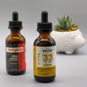Receptra Naturals Pure Hemp oil